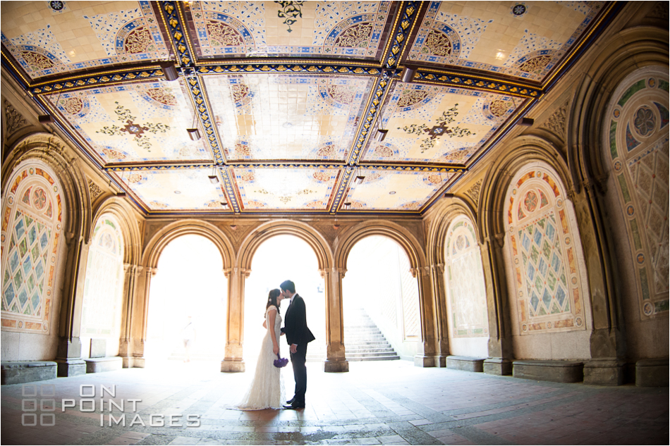 Central Park Wedding Photography: Ladies Pavilion Wedding Photography - Central Park