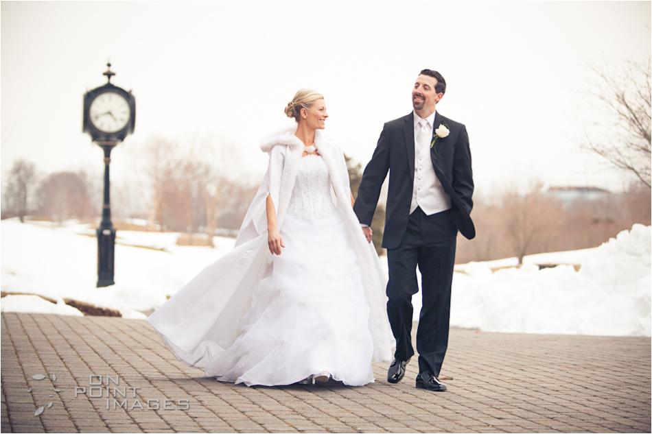 winter wedding great river golf club milford