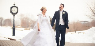 Winter Wedding @ Great River Golf Club Milford