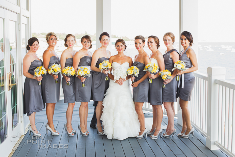 Beach Wedding At The Madison Beach Hotel In Madison Connecticut