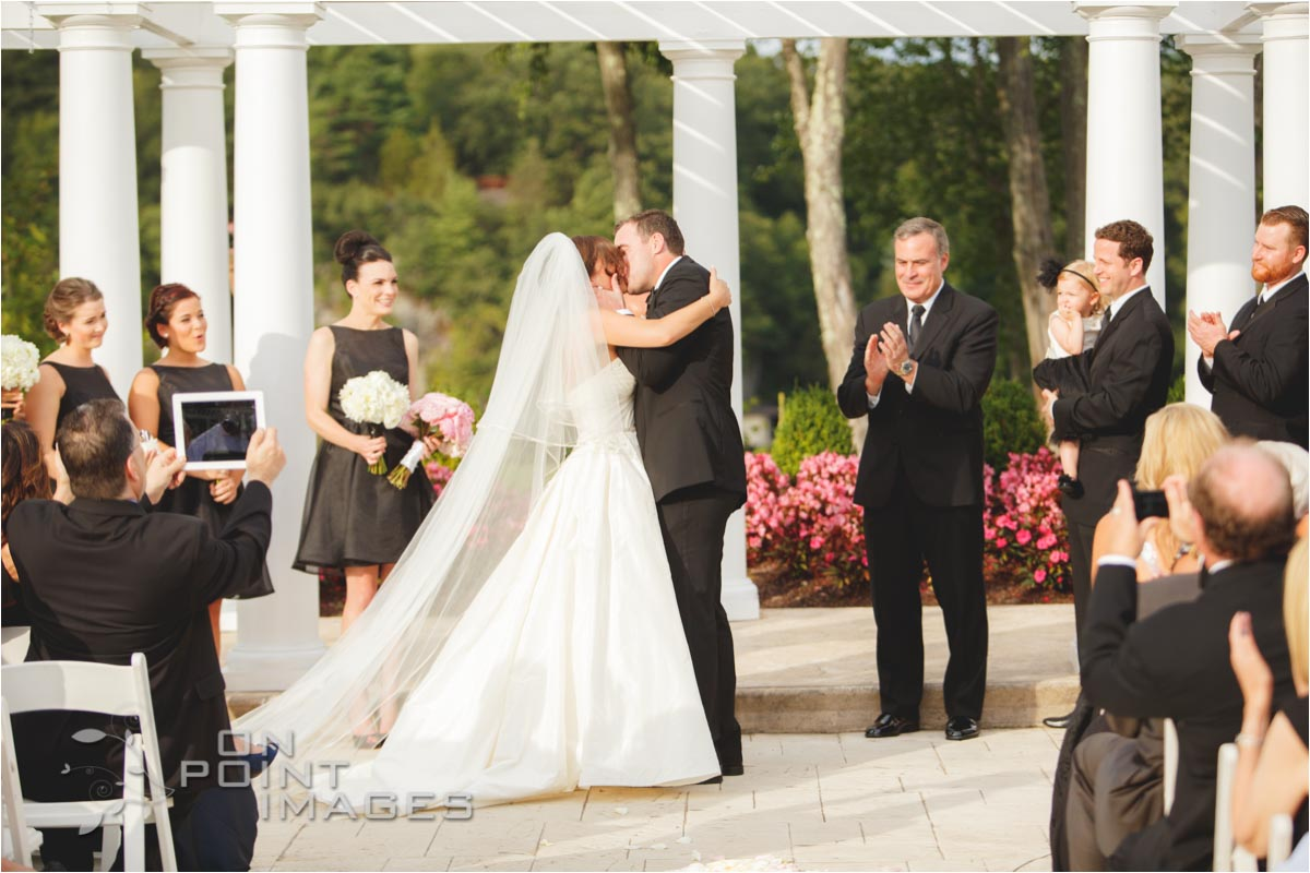 Wedding Ceremony at The Waterview in Connecticut