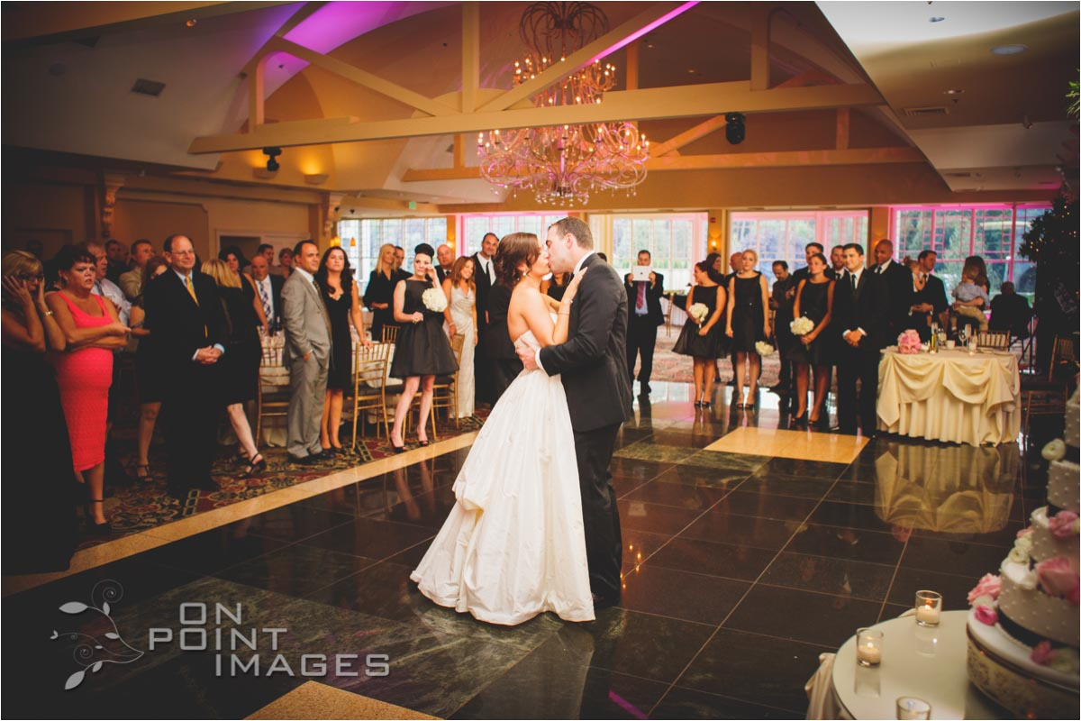 Bride & Groom First Dance at The Waterview Wedding Venue