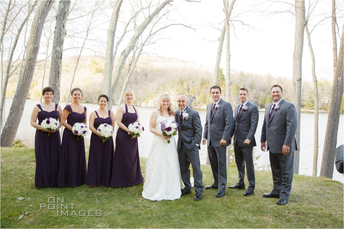 Bridal Party at The Waterview