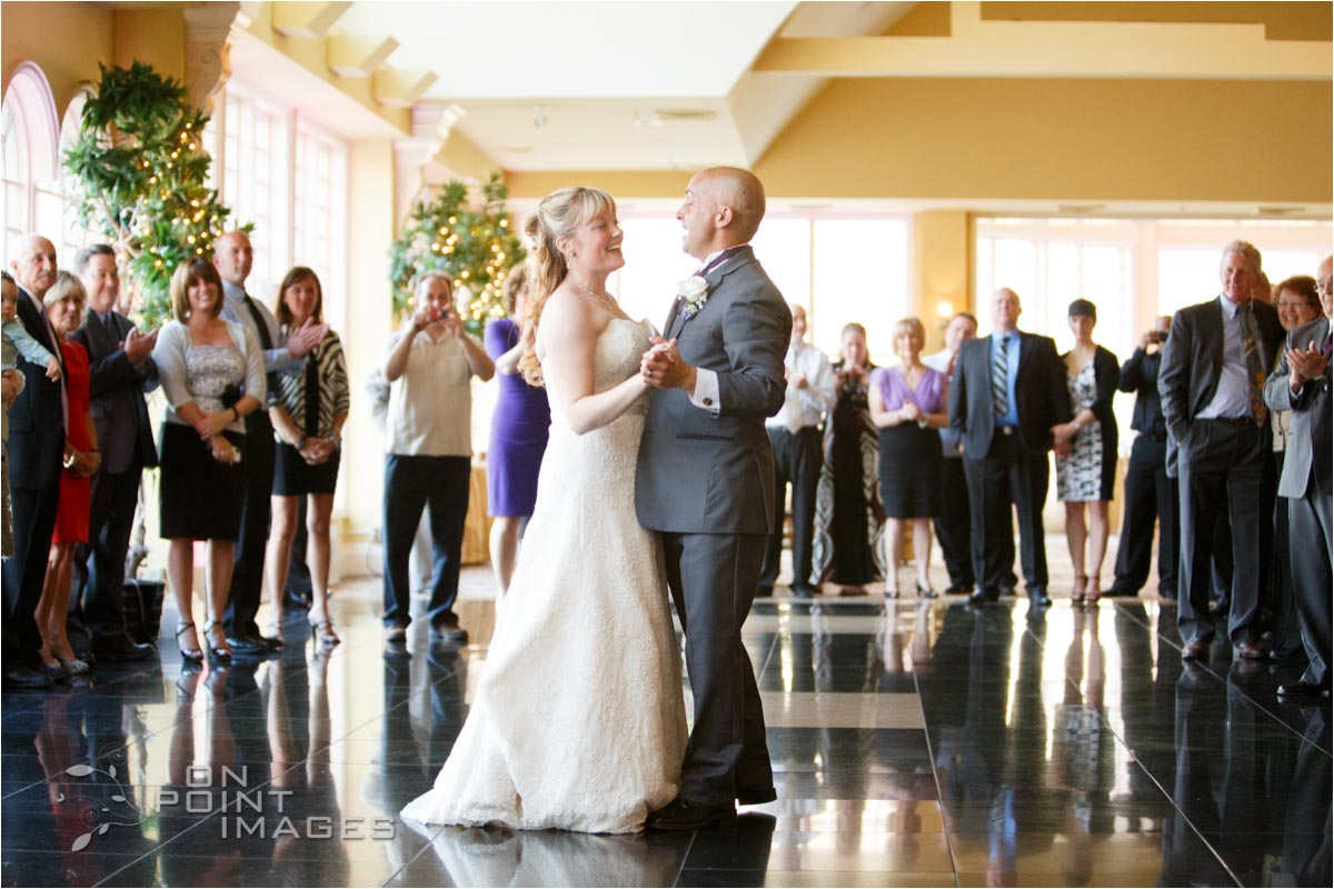 Wedding Reception at The Waterview in Monroe Connecticut