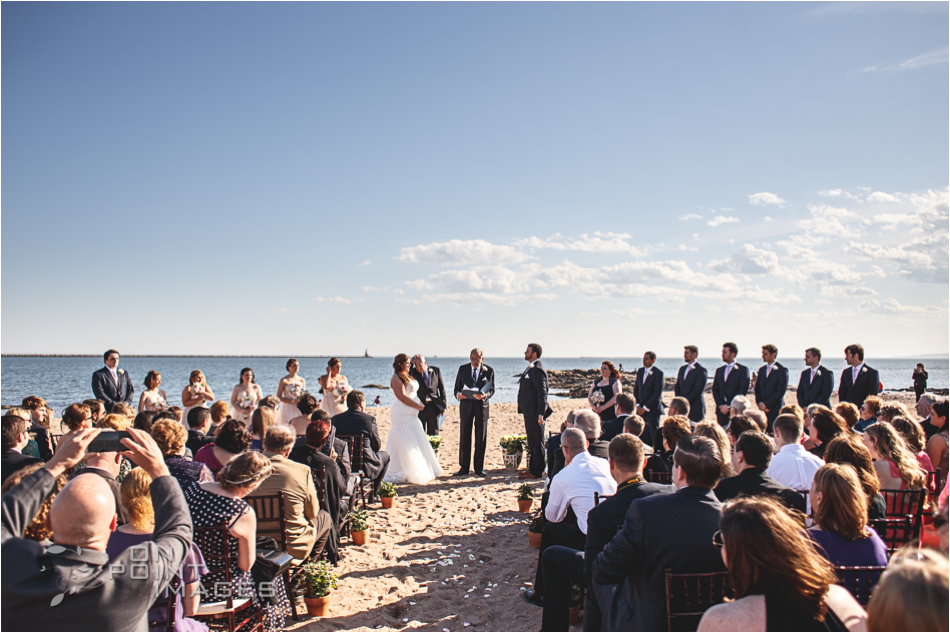 Wedding Ceremony Photograph at Lighthouse Point Park