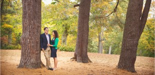 Tatiana & Andrew's Engagement Photos in Edgerton Park New Haven