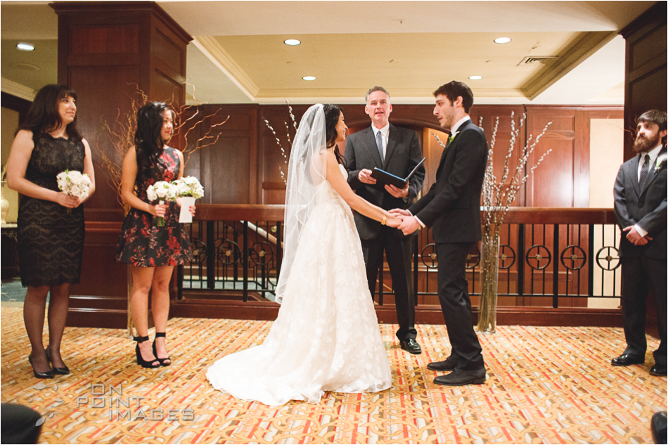 Wedding Ceremony at Omni Hotel in New Haven