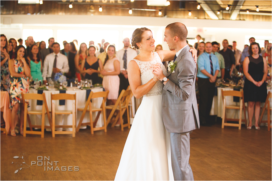 Bride & Groom - First Dance at Latitude 41 in Mystic CT