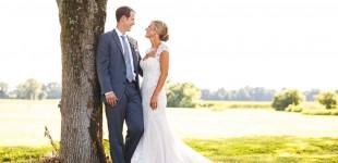Wedding Photgraphs Taken at Farmington Gardens in Connecticut