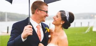 Stefanie & Bill's Wedding Photos at Latitude 41 in Mystic CT
