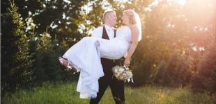 Caroline & Sean's Wedding at The Overlook at Geer Tree Farm