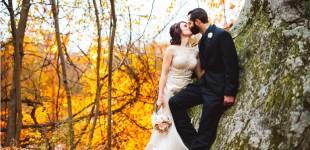 Alice & Joe's Wedding Photographs at Crystal Peak