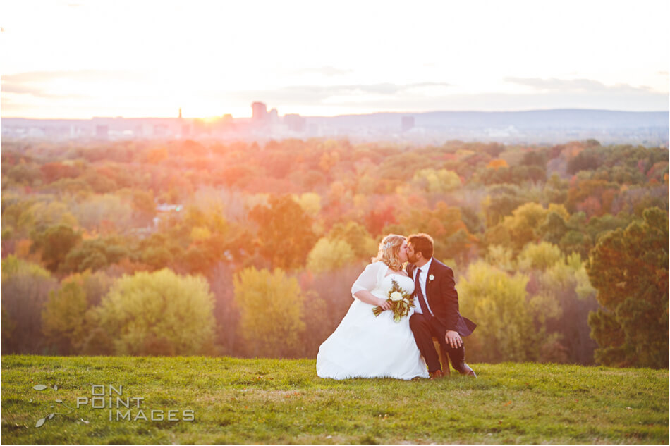 Wickham Park Sunset Wedding Photograph