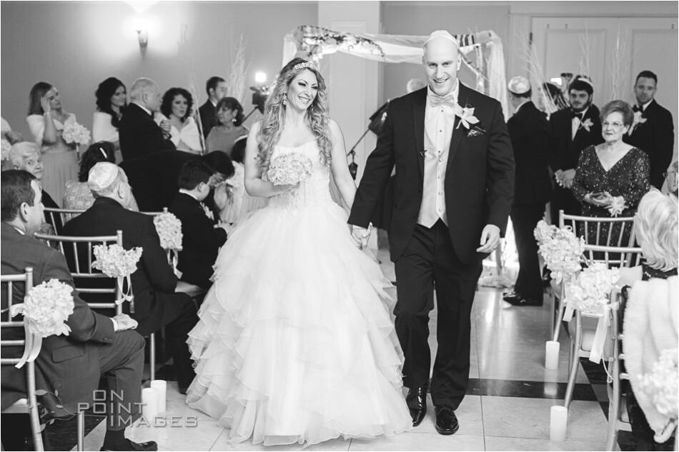 Wedding Ceremony at Aria