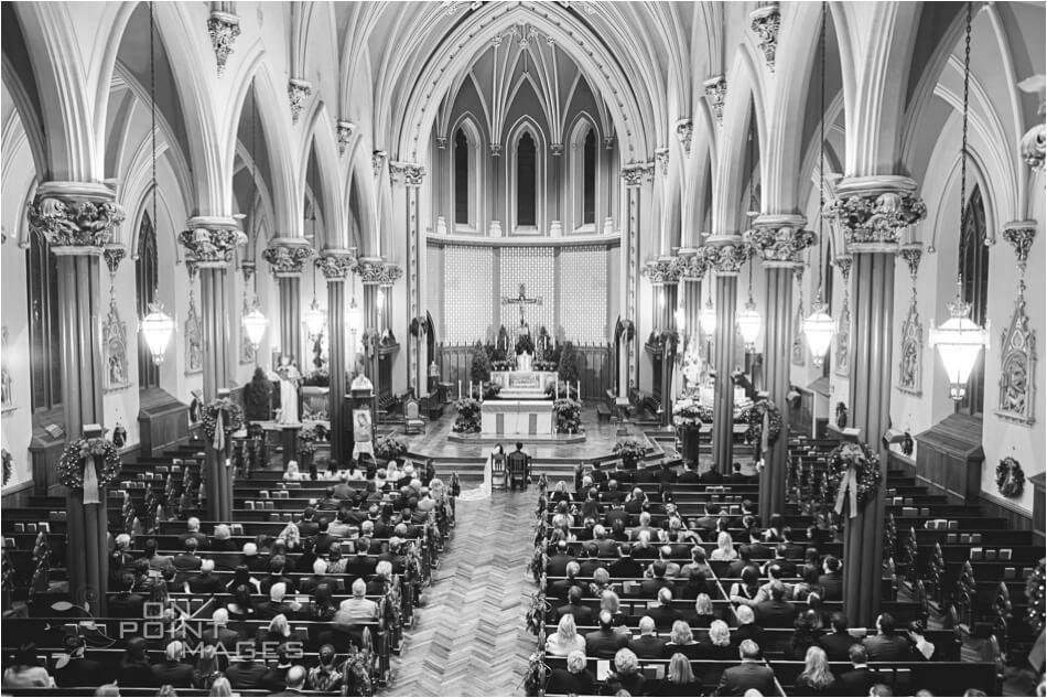 St Mary's Parish Wedding Ceremony Photograph